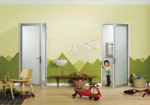 Modern Glass Swing Doors | Hinged Interior Doors | The Sliding Door Company