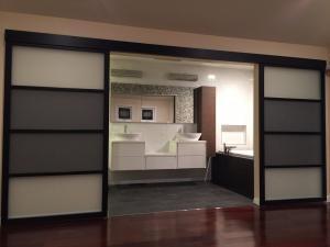 Suspended Glass Doors | Wall Slide Interior Doors | The Sliding Door Company