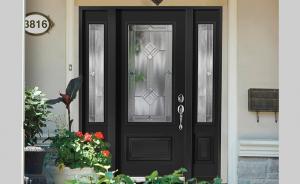 Steel front door - Classic Style - Pixel   Portes Bourassa