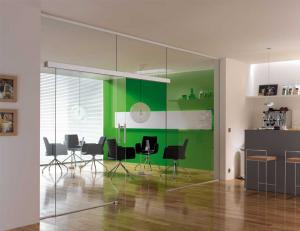 Self Closing Glass Office Doors