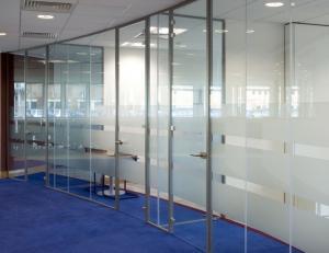 Single Glazed Framed Glass Doors