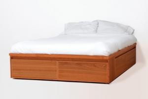 Avers Bed - With Drawers
