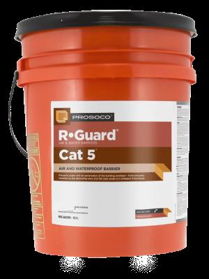 Above-grade wall air & waterproof barrier - PROSOCO Cat 5