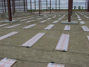 Earth Storage Electric Radiant Heating System