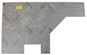 Nuheat Custom Mats - The thinnest custom-built electric floor heating mat.