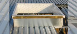 Sunoptics Skylight Curbs with fall protection (CURB)