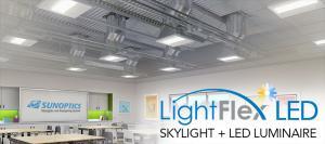Sunoptics LightFlex LED for suspended ceiling application - SLFTL