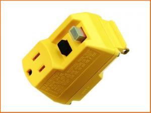 Single Outlet GFCI Plug Adapter
