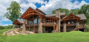 Timber Frame Home Exteriors