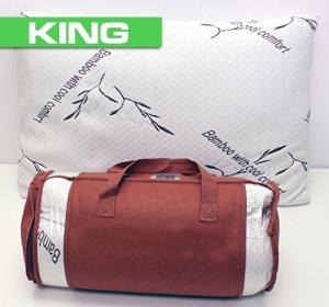 Bamboo Pillow (King) – Prestige Products