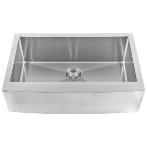 Kitchen Sinks | Single Bowl Handcrafted Farmhouse with Apron 3321