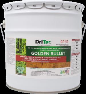 "DriTac ""Golden Bullet"" Sound & Moisture Control Wood Flooring Adhesive"