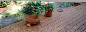 Tropical Hardwood Decking
