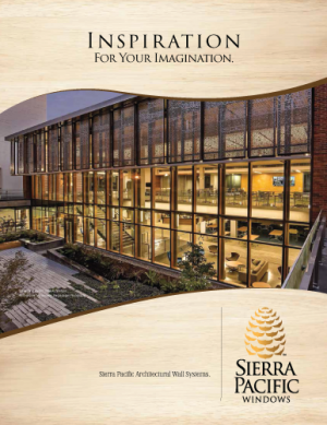 Sierra Pacific Windows - Wall System Timber Curtain All Materials Timber Curtain Architectural Wall Systems - Residential, Commercial, Architectural Windows and Doors