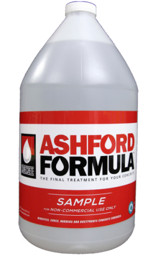 Ashford Formula | Gallon Sample – Curecrete Distribution, Inc.