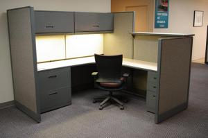 Remanufactured Haworth® Workstations & Cubicles | Davies Office