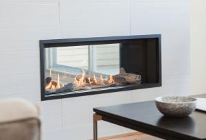 L1 See-Thru Fireplace