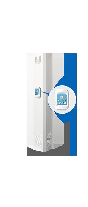 DVS-HW - Digital Ventilation System Demi-Basement Unit