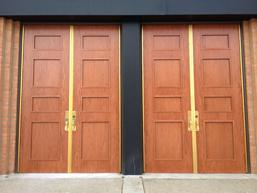 Specialty Products | Wood Grain Finished Doors | Steel Door Institute