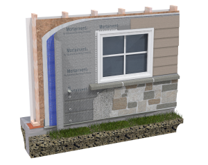 Mortairvent® Rain Screen – Advanced Building Products