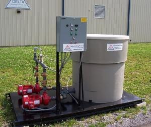 Delta Pump Tank System
