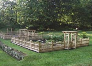 Garden Enclosures   Garden Fences   Walpole Outdoors