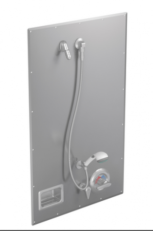 California Only Recess-Mounted ADA Compliant Wall Shower