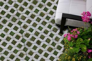 Pavers | GrassStone 80 Permeable Paving Stone | Shaw Brick
