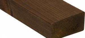 Kebony Character 36x73 mm railing