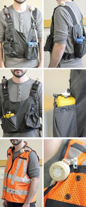 Personal Exposure vest
