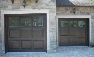 Wooden garage door - Classic Style #021