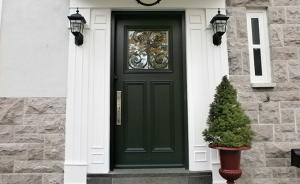 Wooden front door - Classic Style #072