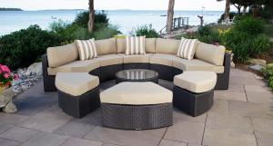 Santorini Outdoor Daybed Set