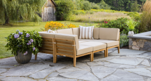 Bali Outdoor Teak Daybed Set