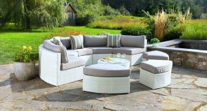 Whitewash Santorini Outdoor Daybed