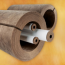 Knauf Earthwool® 1000 Degree Pipe Insulation with ECOSE Technology; Unfaced or ASJ+ Faced